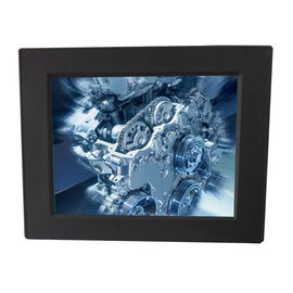 10.4 Inch IP65 Industrial Panel Mount Monitor 300nits With Aluminum Front Bezel
