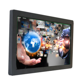 Full HD 43 Inch Industrial Computer Monitor , Touch LCD Monitor With VGA / DVI / HDMI Input